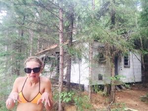 eeuughh, creepy ranger cabin