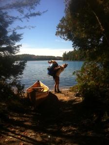red pine lake portage